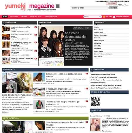 Yumeki magazine 2011