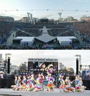 En el Yokohama Stadium, AKB48 ofreció un total de 31 canciones y 3 encores.