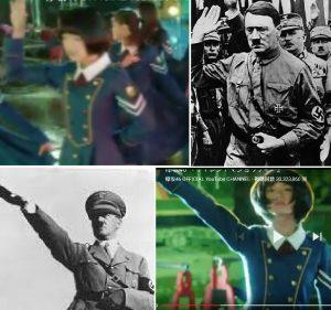 Wotas comparan algunas poses de las chicas Keyakizaka con las que hacía Adolph Hitler