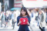 Idol ex-integrante de AKB48 promueve baile para el uso de Desfibriladores Externos Automáticos en espacios públicos