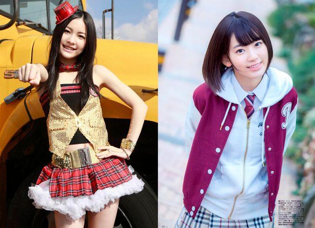 Jurina Matsui y Sakura Miyawaki