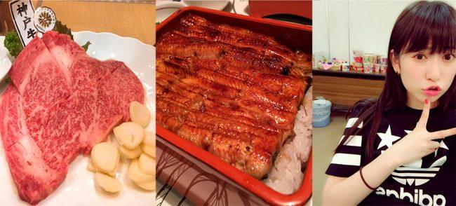 """Catering de Keyakizaka con carnes finas, el """"unaju"""" real y la dotación de Ramen instantáneo de SKE"""