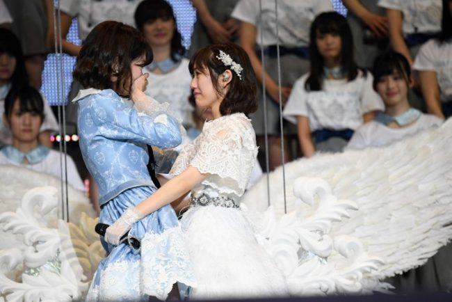 Yuki Kashiwagi y Mayu Watanabe