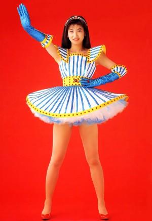 Chisato Moritaka a finales de los años 80's