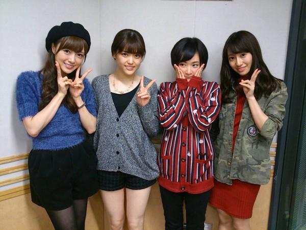 Matsumura sonríe a la cámara luego de la entrevista de radio