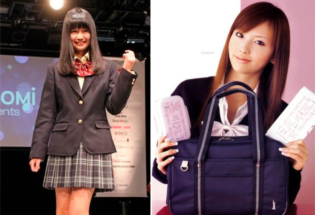 Estilo 2017 (izquierda) y 2007 (derecha)