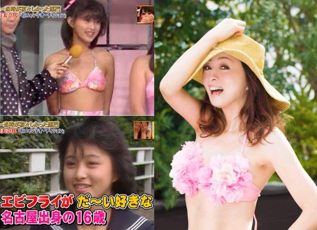 Minayo Watanabe (debut 1985) y actual