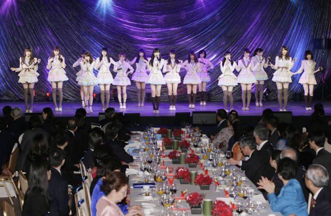 AKB48 frente a líderes mundiales de ASEAN (2013)