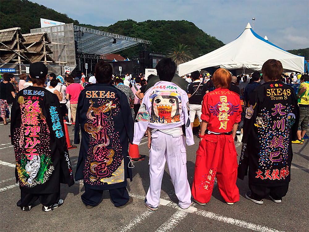 Shin-eitai vistiendo Tokkoufuku