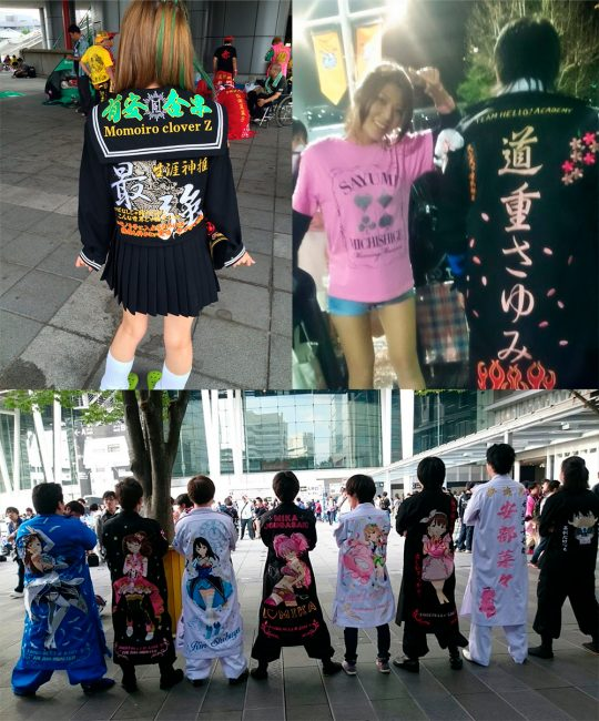 "Tokkoufuku de Momoiro Clover, Sayumi Michishige y ""LoveLive"""