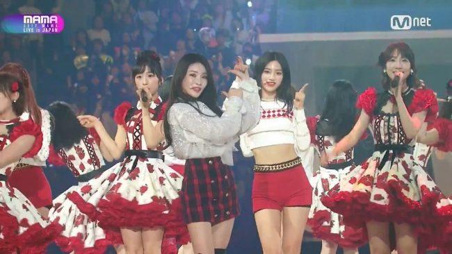 AKB48 (Japón) y I.O.I (Corea)